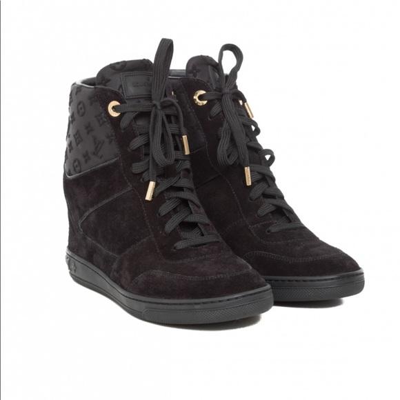 Louis Vuittons Millenium Wedge Sneaker